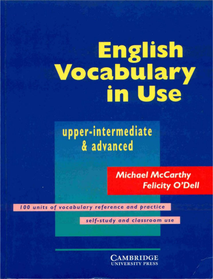 Title: English Vocabulary in Use (Upper-intermediate & Advanced)