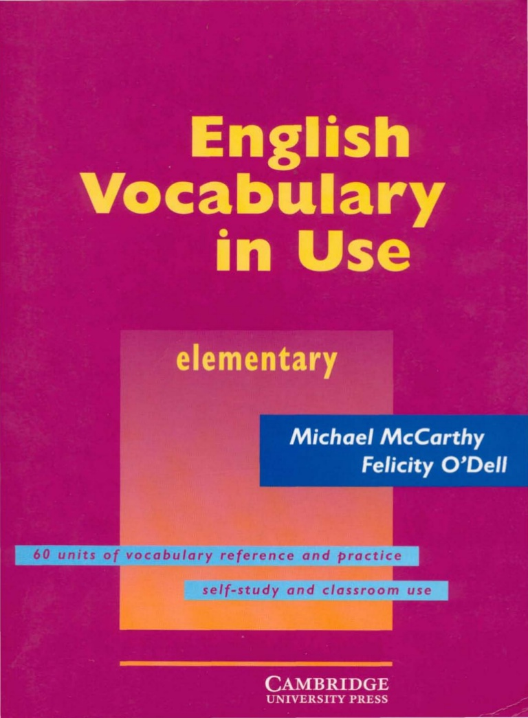 Title: English Vocabulary in Use (Elementary)