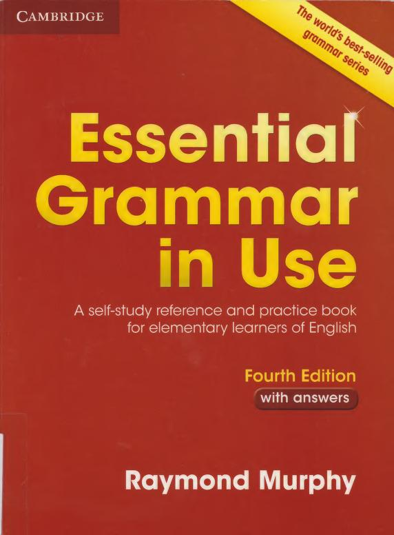 Title: Essential Grammar in Use